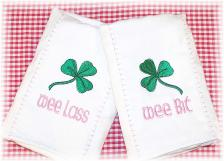 Irish Burp Cloths