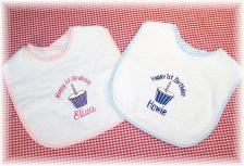 Personalized  Birthday Baby Bibs