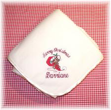 Personalized Christmas Baby Blankets