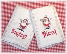 Christmas Burp Cloth Sets