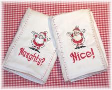 Christmas Burp Cloth Sets